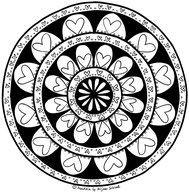 Ausmalbilder Mandala Herzen Einzigartig 199 Besten Mandalas Zum Ausdrucken Für Kinder Erwachsene Bilder Stock