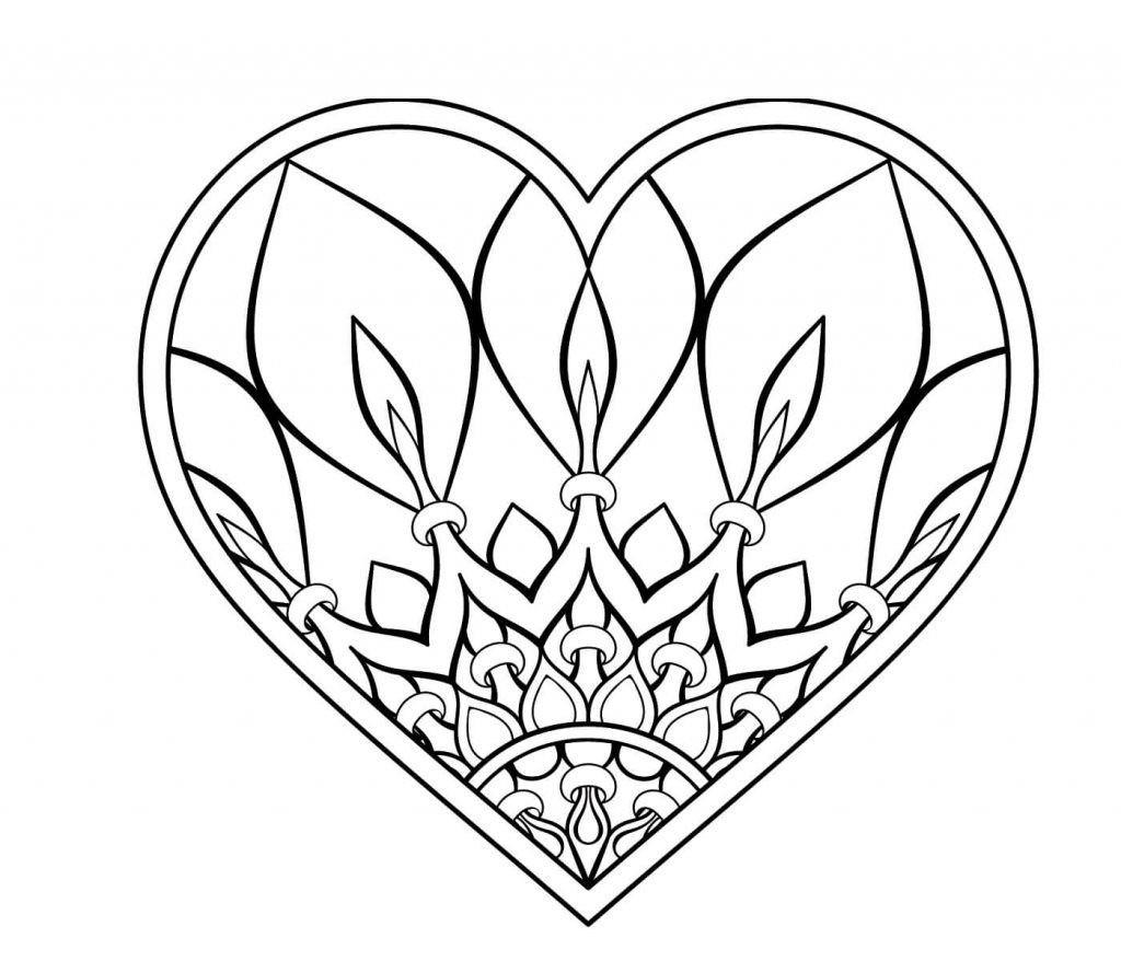 Ausmalbilder Mandala Herzen Genial Herz Malvorlagen Einfach Herz Mandalas Zum Ausdrucken – Malvorlagen Bilder