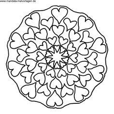 Ausmalbilder Mandala Herzen Inspirierend Die 8010 Besten Bilder Von Mandala & Malvorlagen In 2018 Bilder