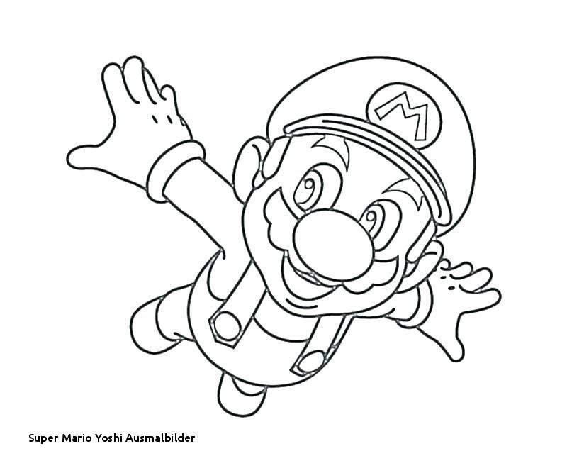 Ausmalbilder Mario Kart Frisch Super Mario Yoshi Ausmalbilder Mario and Luigi Coloring Pages Best Bilder