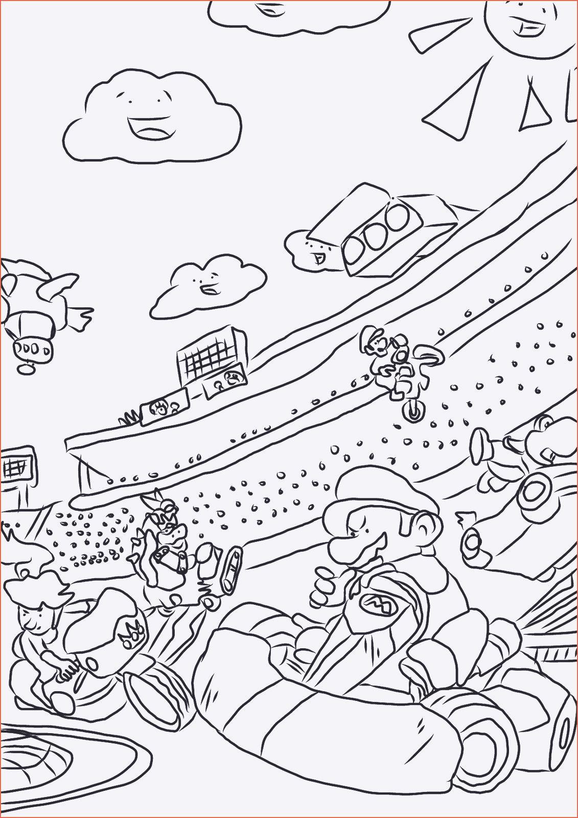 Ausmalbilder Mario Kart Inspirierend Ausmalbilder Mario Weihnachten Bilder