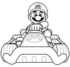 Ausmalbilder Mario Kart Inspirierend Mario Ausmalbilder 04 Mario Und Luigi Pinterest Fotografieren