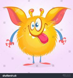 Ausmalbilder Mascha Und Der Bär Einzigartig 92 Best Cartoon Monsters Shutterstock Vector Images On Pinterest In Sammlung