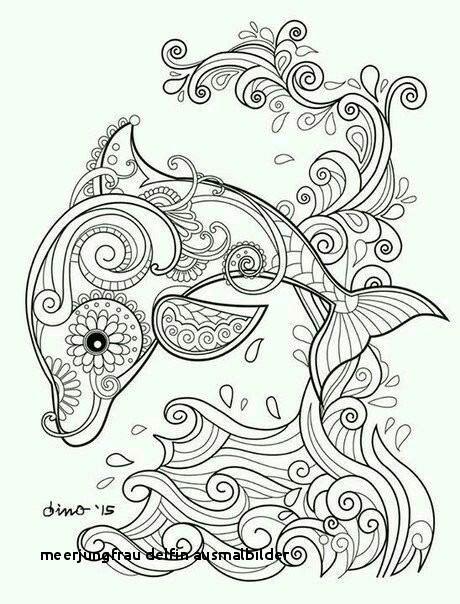 Ausmalbilder Meerjungfrau Mit Delfin Frisch Meerjungfrau Delfin Ausmalbilder 29 Meerjungfrau Ausmalbild Colorprint Galerie