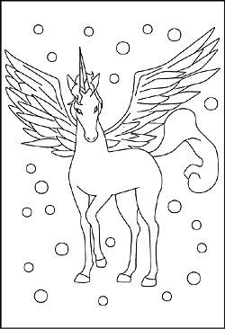 Malvorlagen Pegasus Anna