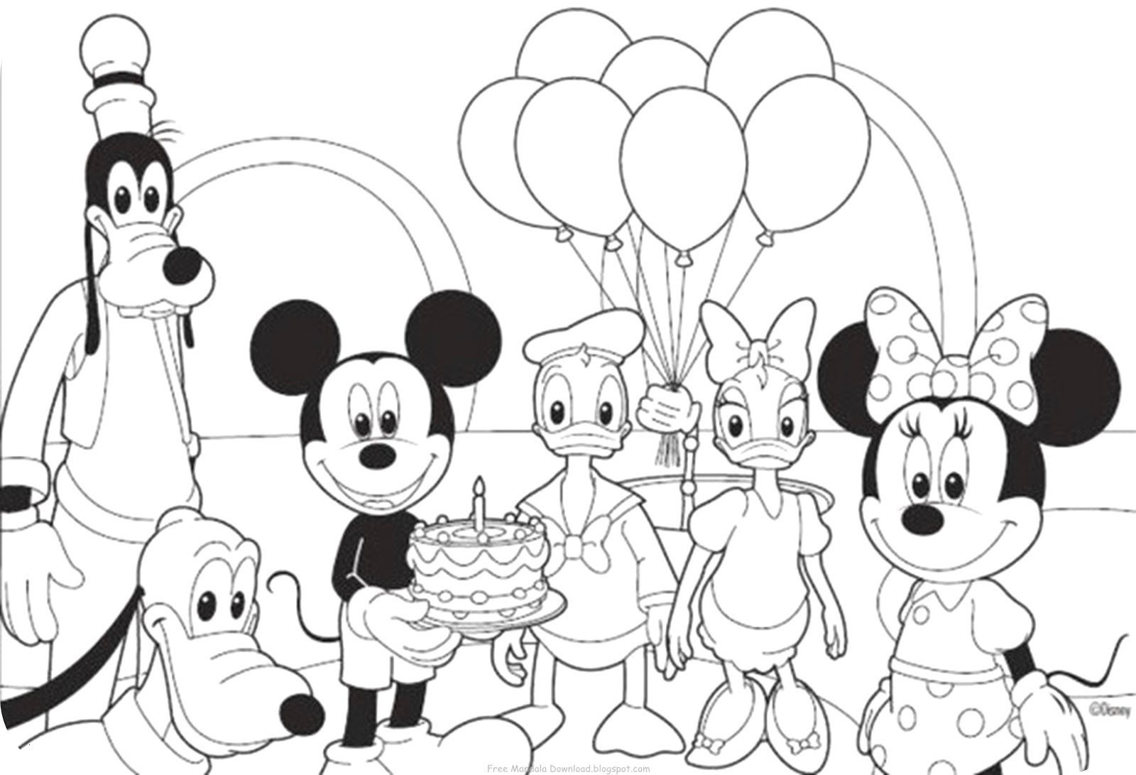 Ausmalbilder Mickey Mouse Einzigartig 40 Frisch Mickey Mouse Ausmalbilder Beste Malvorlage Galerie