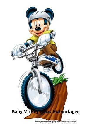 Ausmalbilder Mickey Mouse Frisch Baby Mickey Maus Malvorlagen Mickey Mouse En Bicicleta Mickey Bilder