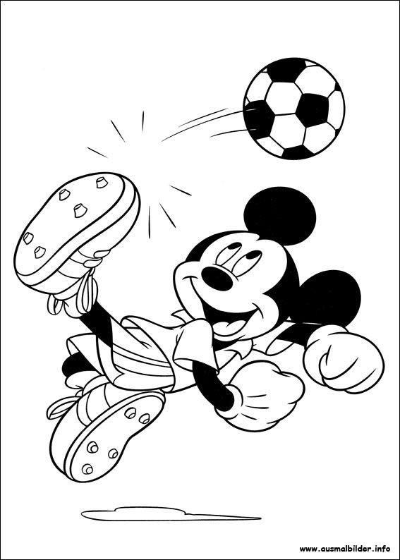 Ausmalbilder Mickey Mouse Inspirierend Micky Maus Malvorlagen Kinder Geburtstag Bilder