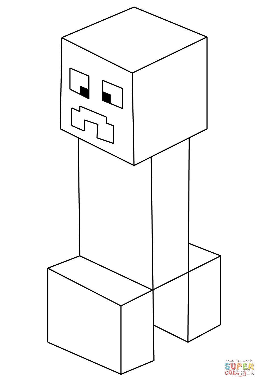 Ausmalbilder Minecraft Dorf Das Beste Von Minecraft Creeper Coloring Picture John Stuff Pinterest Luxus Bild