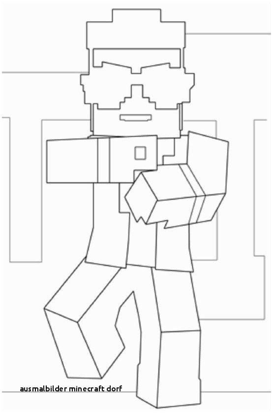 Ausmalbilder Minecraft Dorf Einzigartig Colorprint Zeichnungen Für