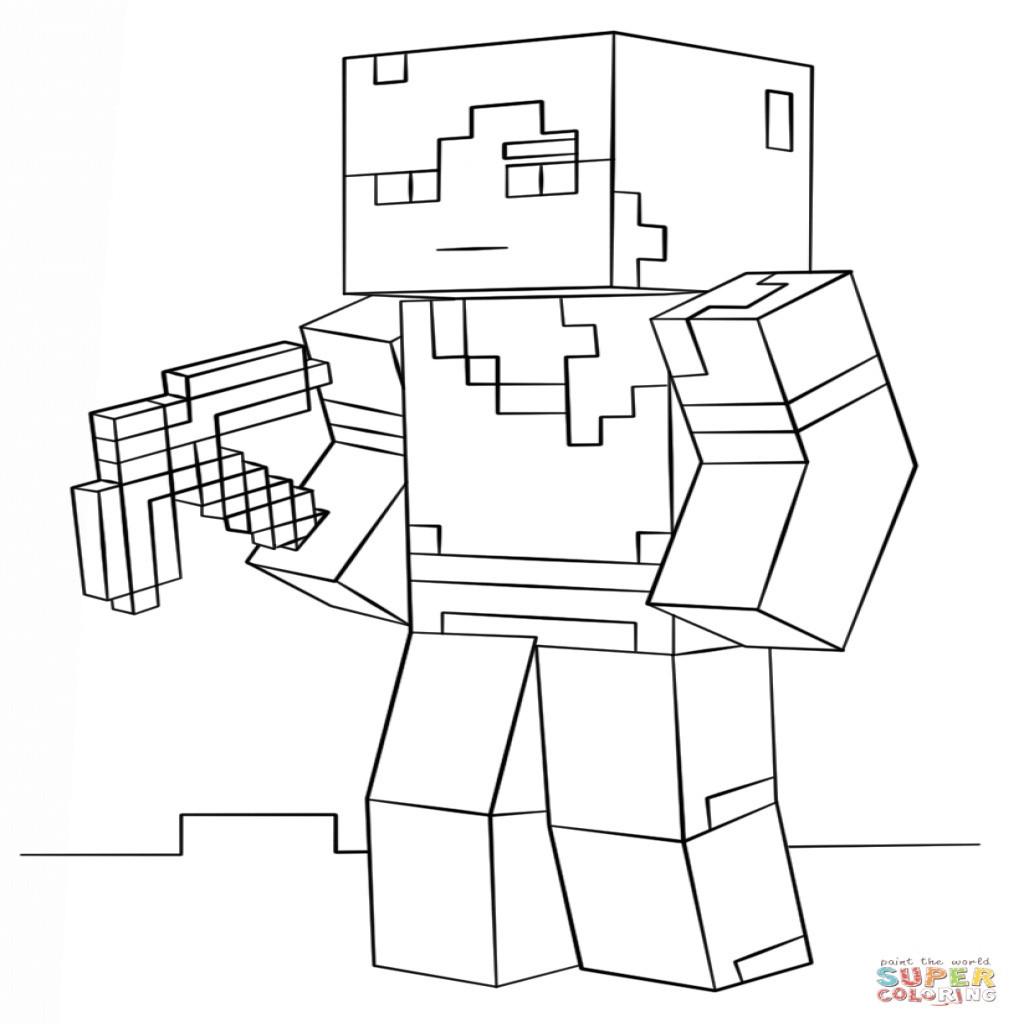 Ausmalbilder Minecraft Dorf Genial Minecraft Creeper Coloring Picture John Stuff Pinterest Luxus Fotos
