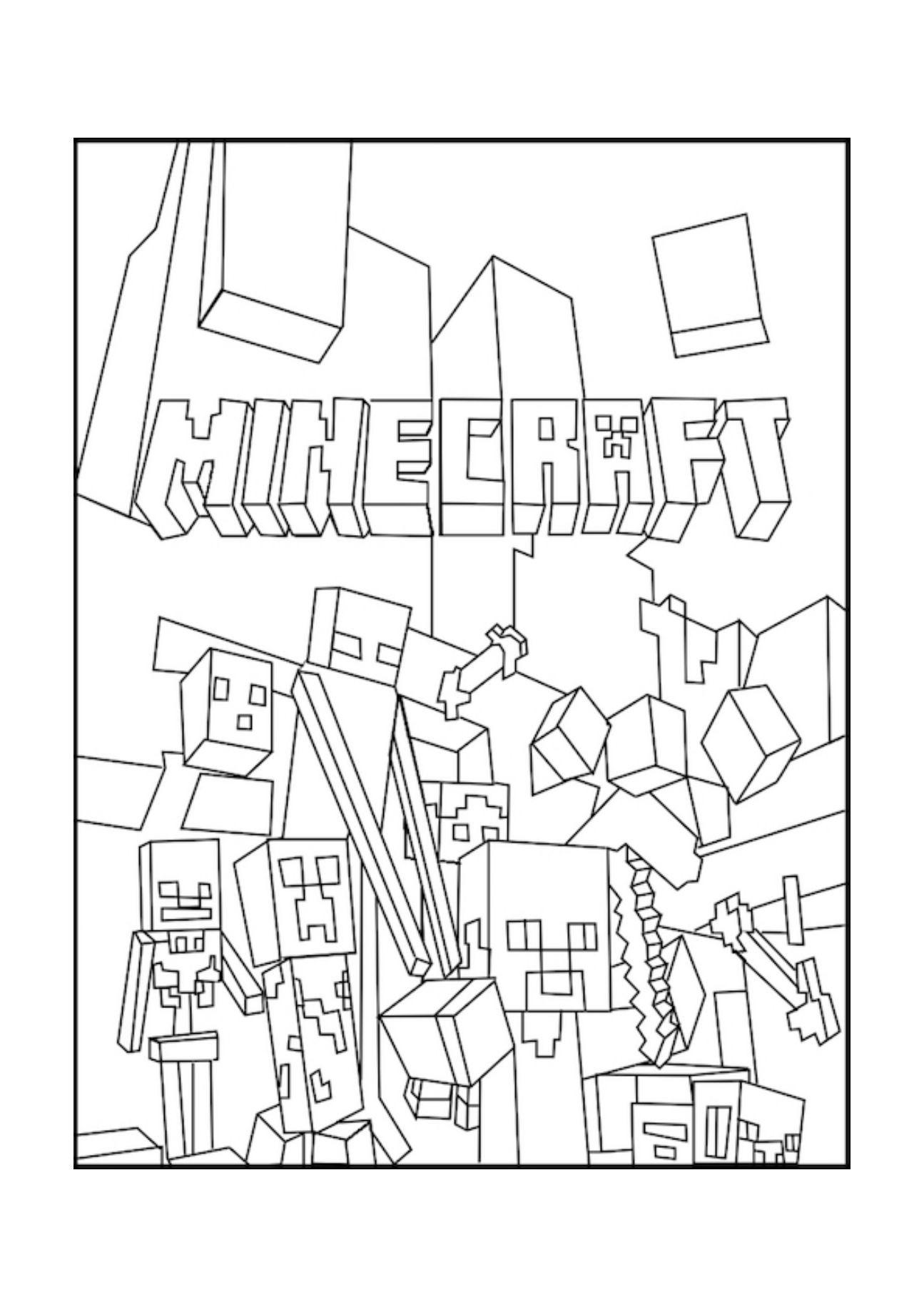 Ausmalbilder Minecraft Dorf Inspirierend Minecraft Deadlox Ausmalbilder 1081 Malvorlage Minecraft Schön Bild