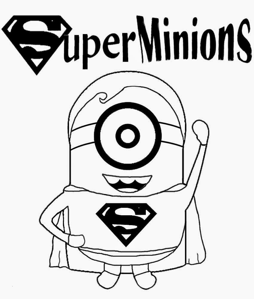 Ausmalbilder Minions Baby Das Beste Von Childrens Free Minion Clipart Cartoon Superhero Superman Schön Bilder