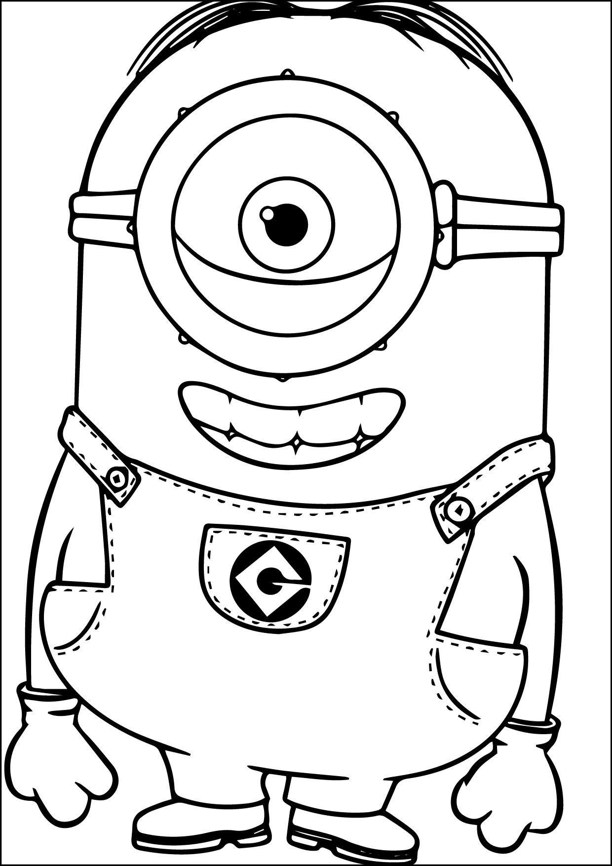 Ausmalbilder Minions Baby Neu Cool Minions Coloring Page 06 09 2015 01 Schön Ausmalbilder Minions Bilder