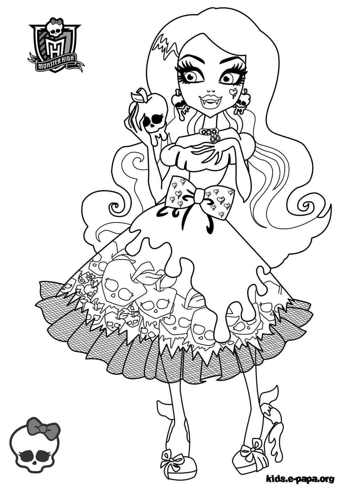 Ausmalbilder Monster High Frankie Stein Frisch 40 Ausmalbilder Monster High Frankie Stein Scoredatscore Bilder