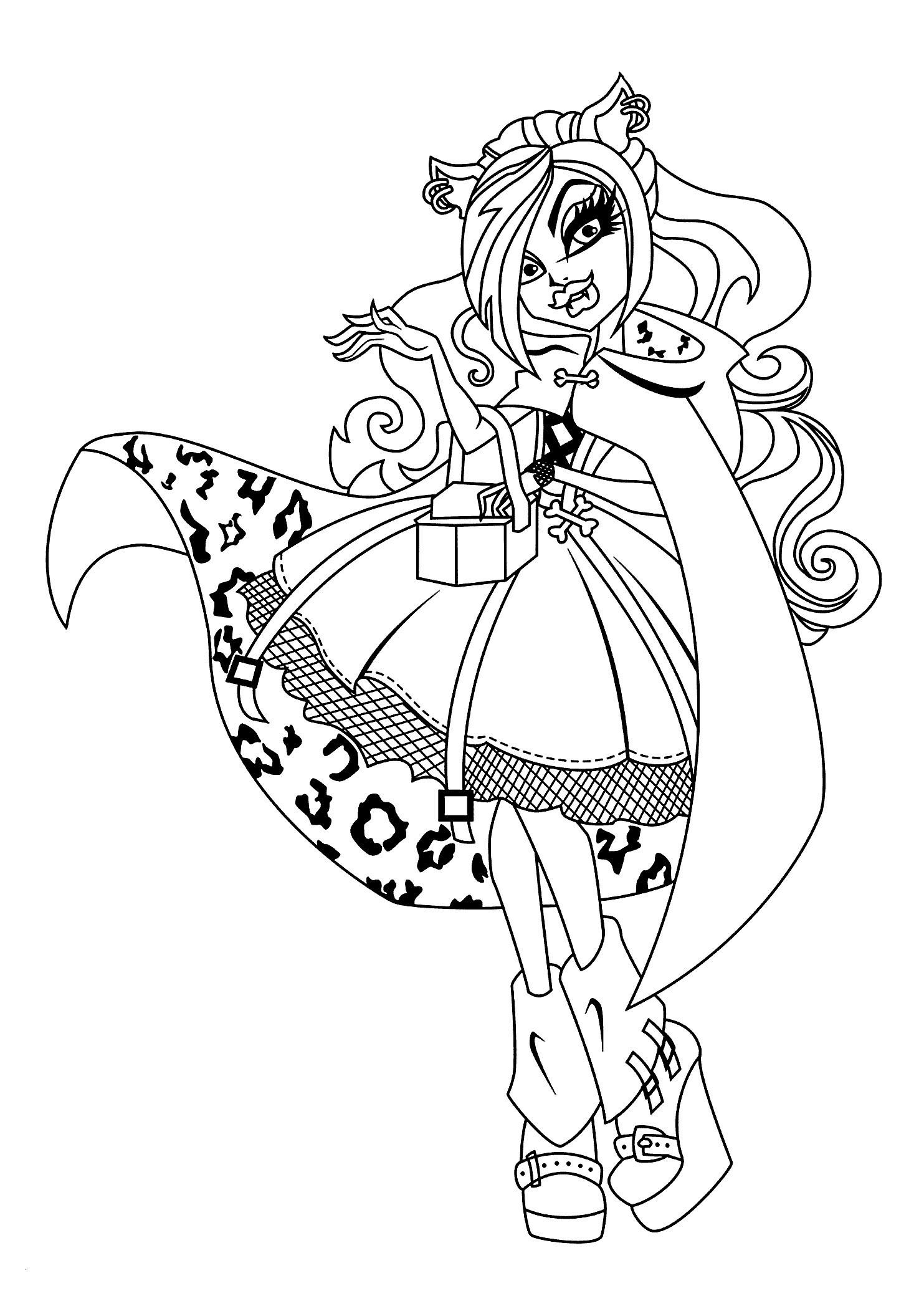 Ausmalbilder Monster High Frankie Stein Genial Ausmalbilder Monster High Jinafire Neu 32 Ausmalbilder Monster High Bilder