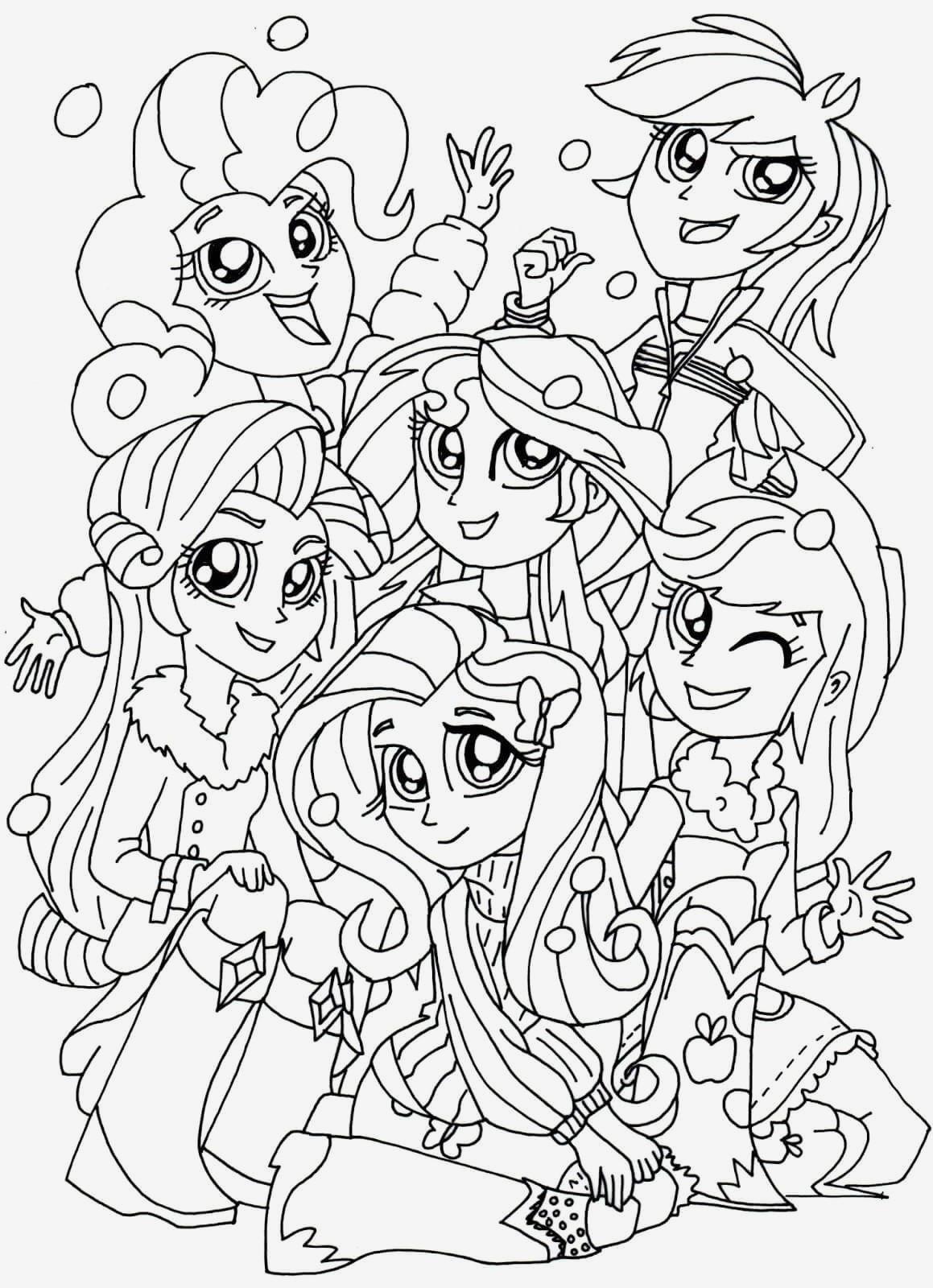 Ausmalbilder My Little Pony Equestria Girl Genial Beispielbilder Färben My Little Pony Ausmalbilder Bilder