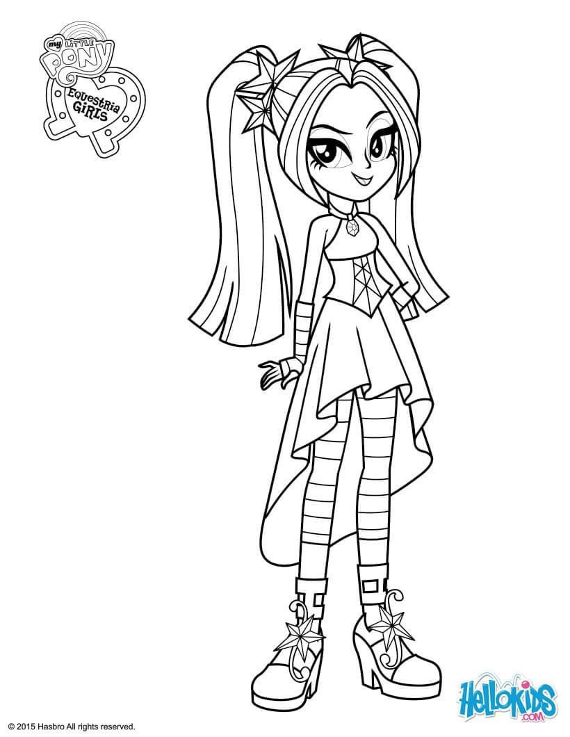 Ausmalbilder My Little Pony Equestria Girl Inspirierend Beautiful My Little Pony Coloring Pages Coloring Pages Frisch My Bilder