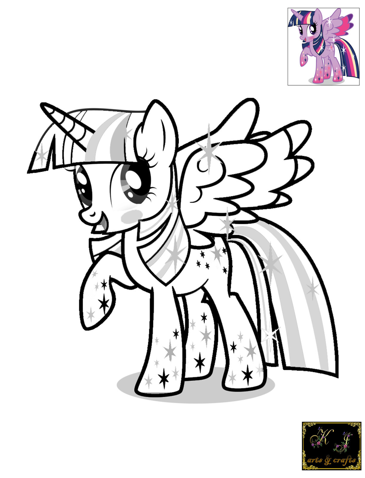 Ausmalbilder My Little Pony Equestria Neu Fresh Twilight Sparkle Coloring Page Coloring Pages Best Bilder