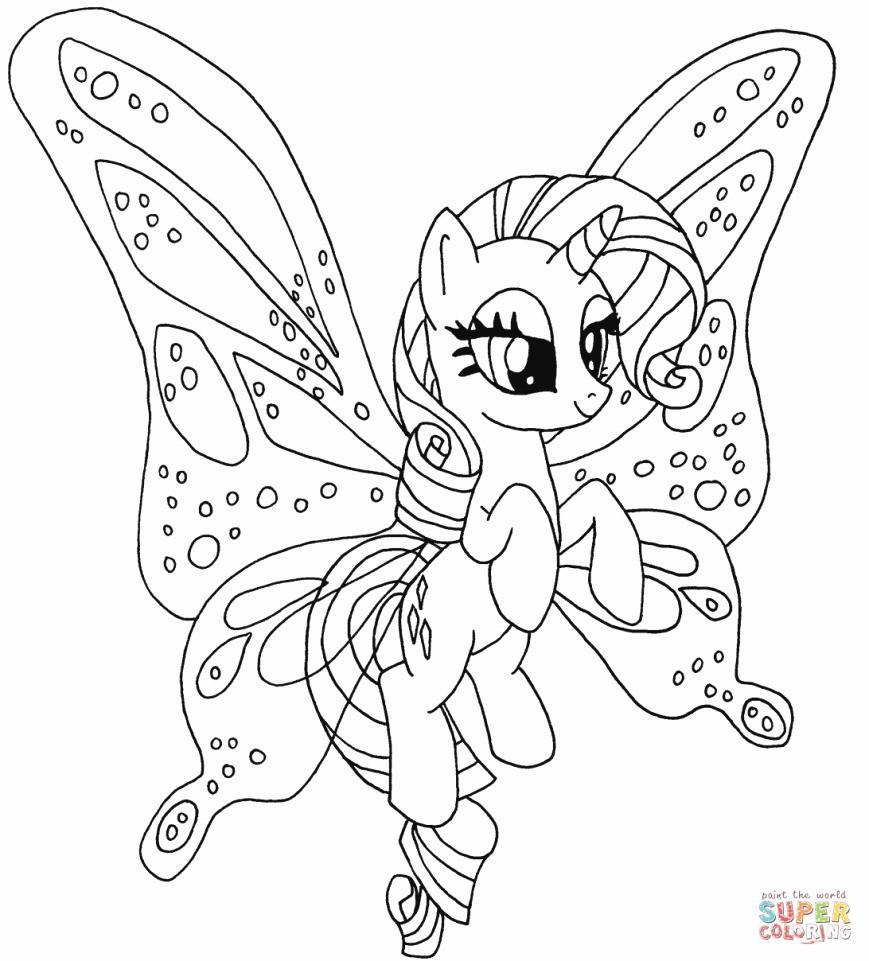 Ausmalbilder My Little Pony Rainbow Dash Genial Rainbow Dash Stencil Lovely Princess Rarityloring Page Little Pony Stock