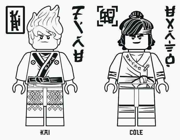 Ausmalbilder Ninjago Kai Einzigartig Ninjago Cole Ausmalbilder Coloring Page Galerie