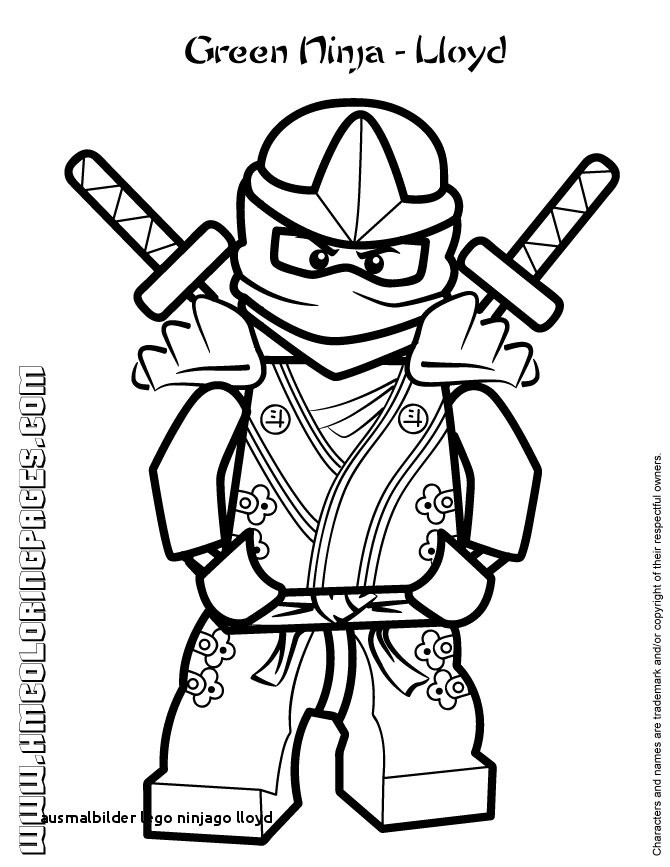 Ausmalbilder Ninjago Kai Genial 20 Ausmalbilder Lego Ninjago Lloyd Colorprint Stock