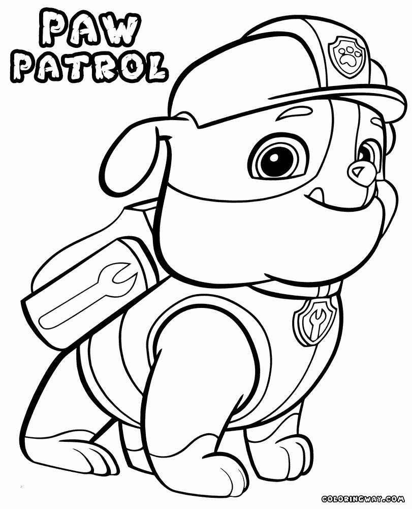 Ausmalbilder Paw Patrol Neu Janbleil Paw Patrol Everest Ausmalbilder Einzigartig Paw Patrol Das Bild