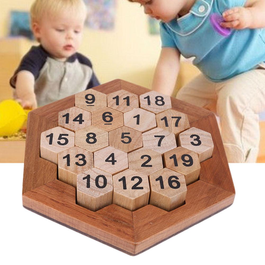 Ausmalbilder Pferde Mit Flügel Inspirierend Children Brain Teaser Wooden Number Board Kids Montessori Math Game Bilder