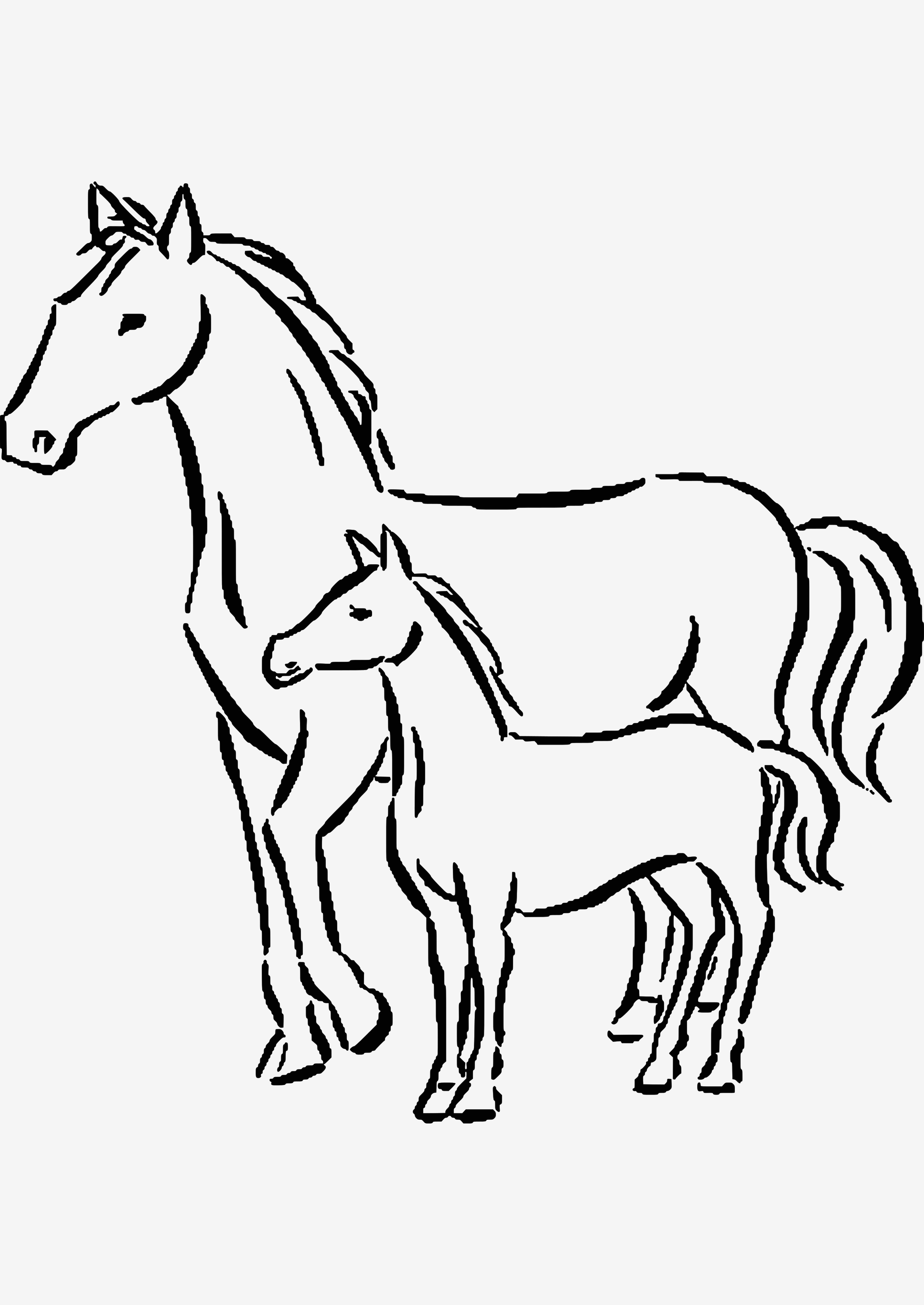 Ausmalbilder Pferde Mit Fohlen Inspirierend 48 Best Kostenlose Ausmalbilder Pferde Malvorlagen Sammlungen Das Bild