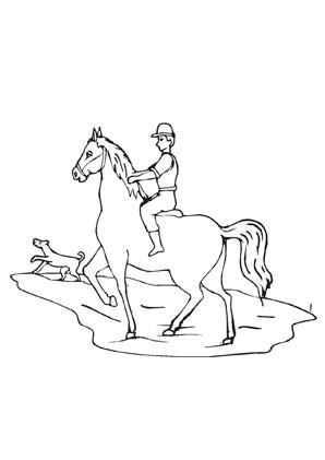 Ausmalbilder Pferde Mit Reiterin Einzigartig Ausmalbilder Pferd Mit Jungem Reiter Pferde Malvorlagen Färbung Sammlung