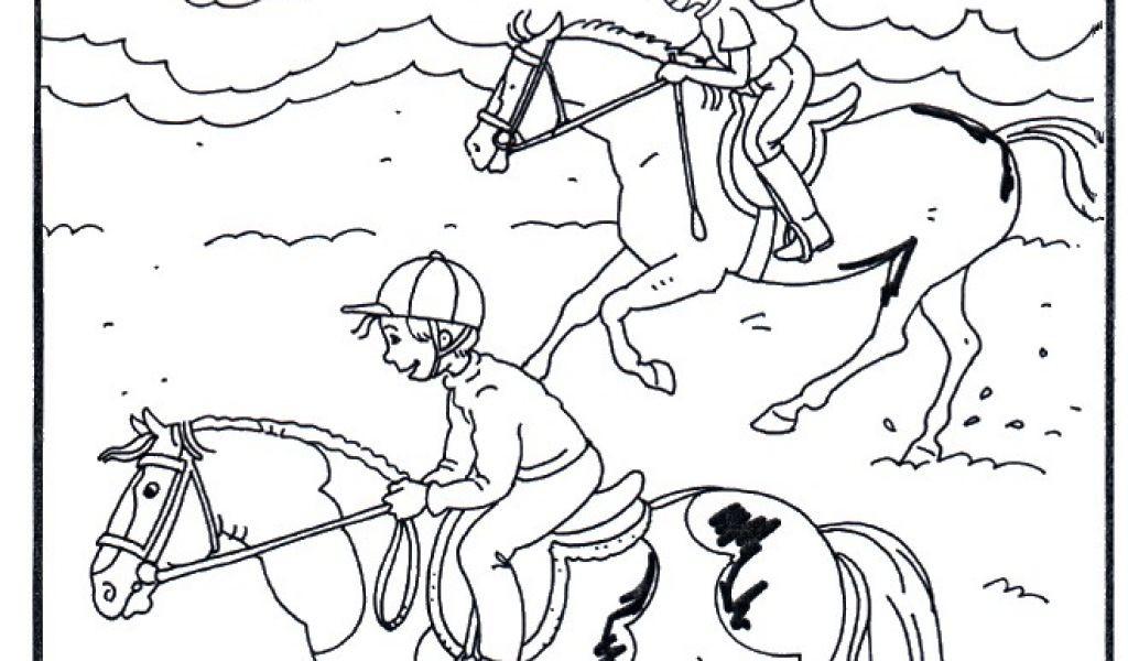 99 Inspirierend Ausmalbilder Pferde Mit Reiterin Galerie Kinder Bilder