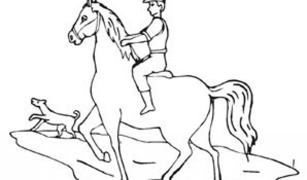 Ausmalbilder Pferde Mit Reiterin Frisch Ausmalbilder Pferd Mit Jungem Reiter Pferde Malvorlagen Färbung Fotografieren