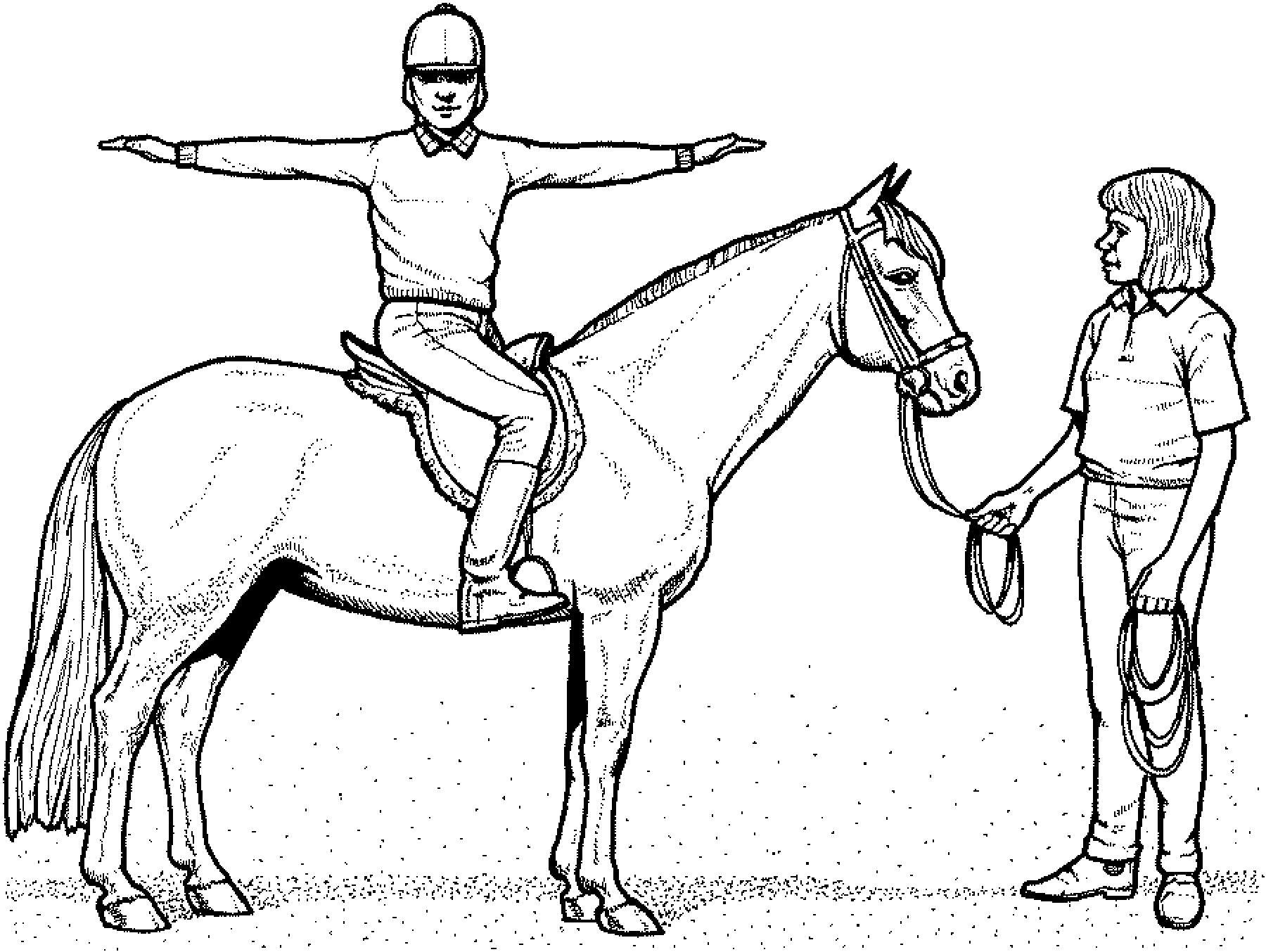 99 inspirierend ausmalbilder pferde mit reiterin galerie