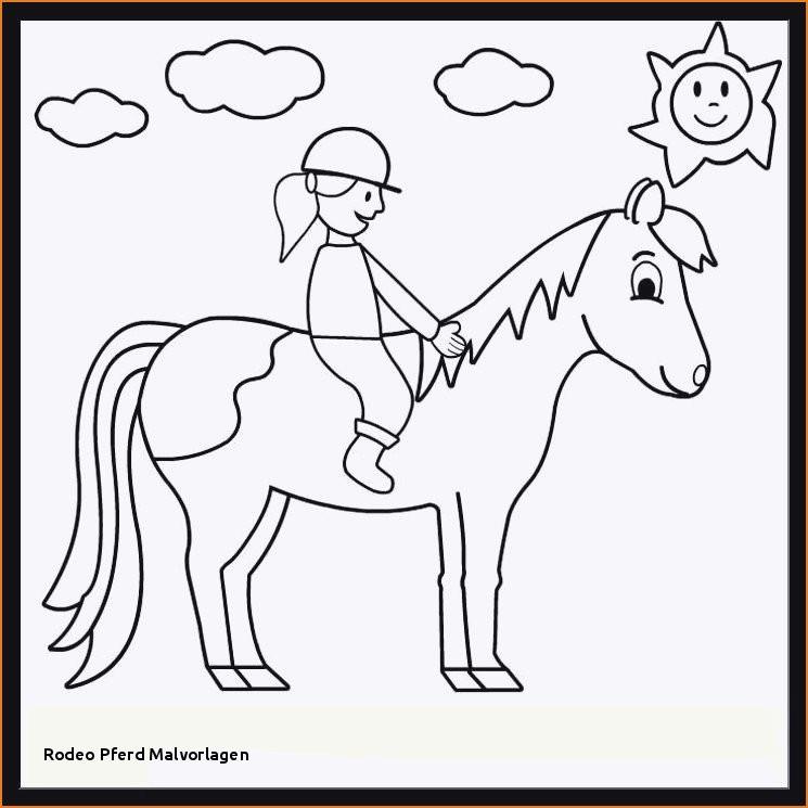 Ausmalbilder Pferde Mit Reiterin Neu 23 Rodeo Pferd Malvorlagen Galerie