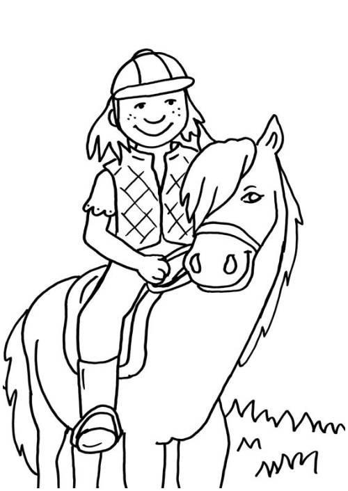 Ausmalbilder Pferde Mit Reiterin Neu Ausmalbilder Pferde Mit Reiterin Ideen Kostenlose Malvorlage Das Bild