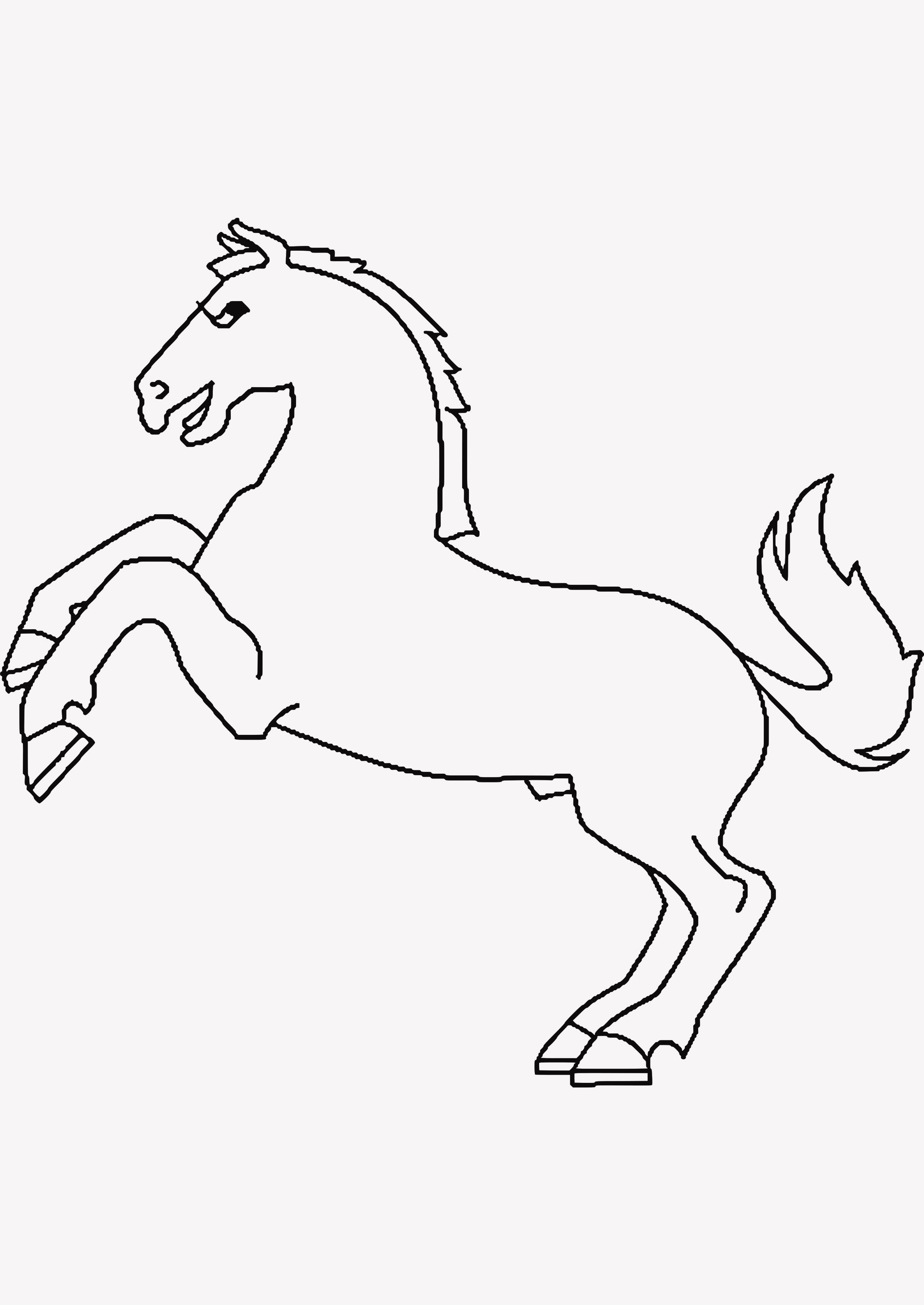 99 Inspirierend Ausmalbilder Pferde Turnier Bild | Kinder ...