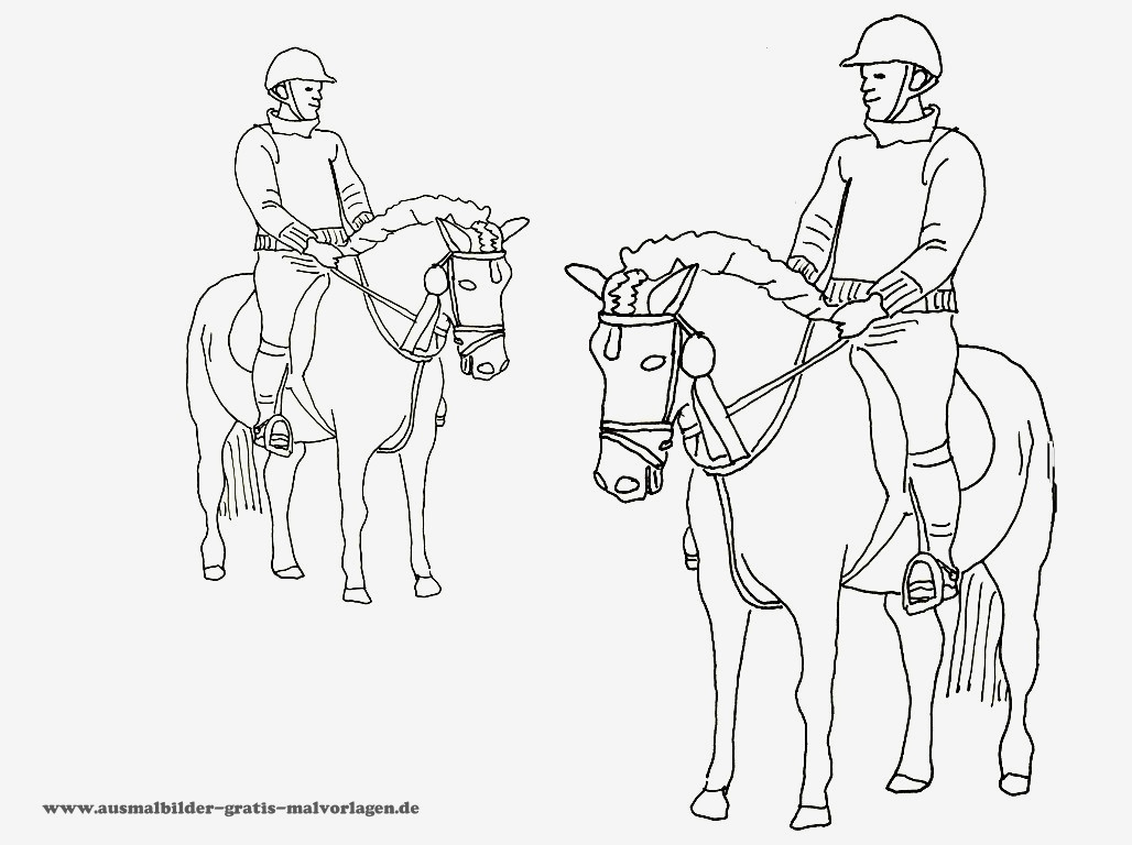 99 das beste von ausmalbilder pferde zum ausdrucken for Innendekoration nurensdorf
