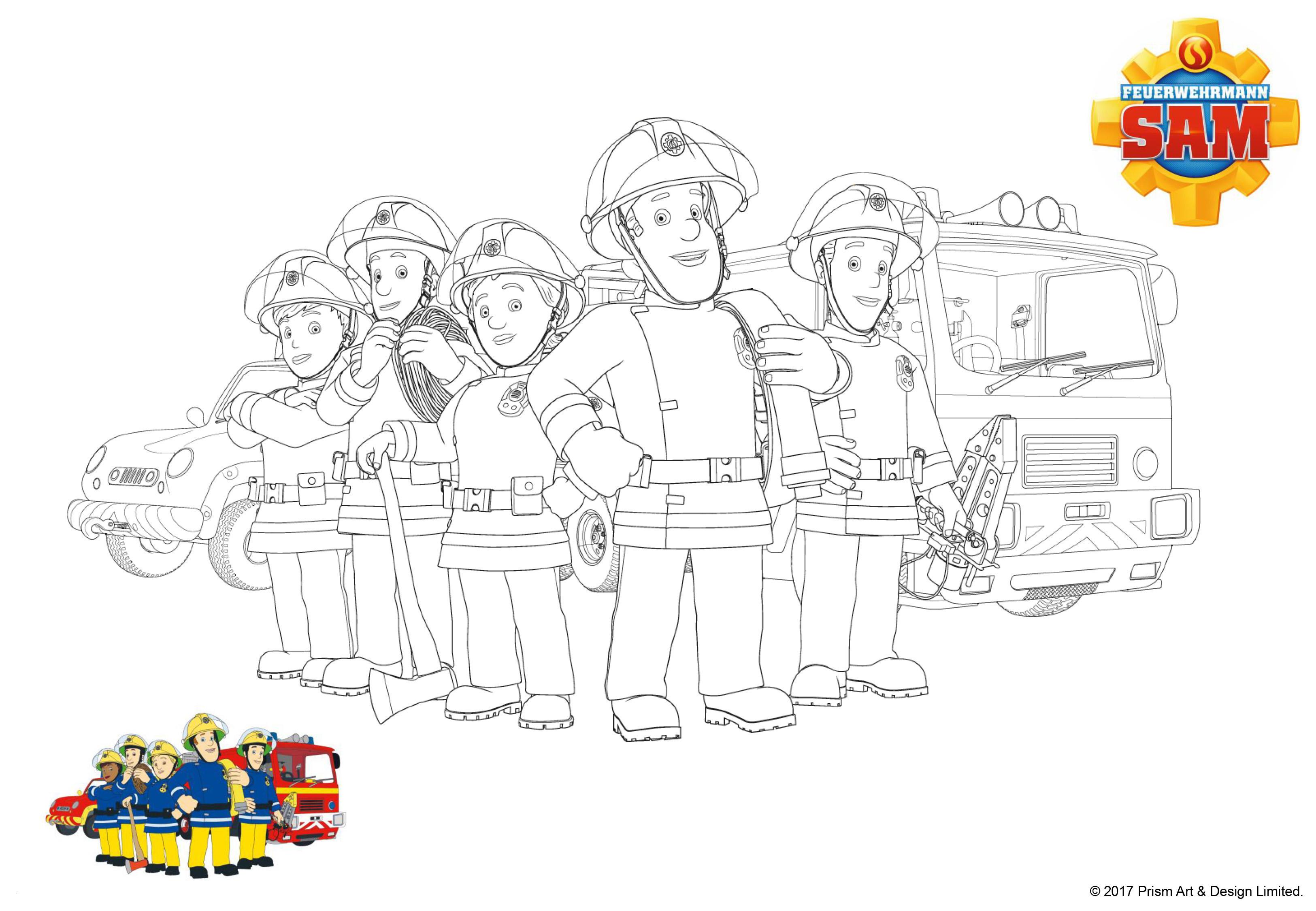 Ausmalbilder Polizei Und Feuerwehr Einzigartig 35 Malvorlagen Feuerwehrmann Sam Kostenlos forstergallery Sammlung