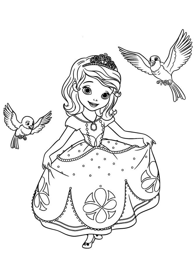 Ausmalbilder Prinzessin sofia Das Beste Von Ausmalbilder Prinzessin sofia Ideen sofia the First Disney Stock