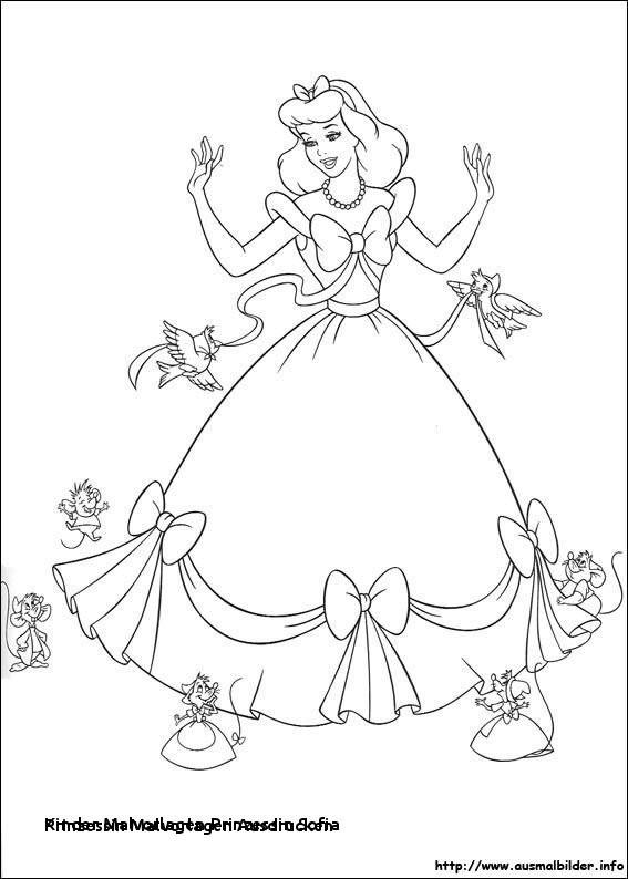 Ausmalbilder Prinzessin sofia Einzigartig Kinder Malvorlagen Prinzessin sofia Prinzessin Malvorlagen Bilder