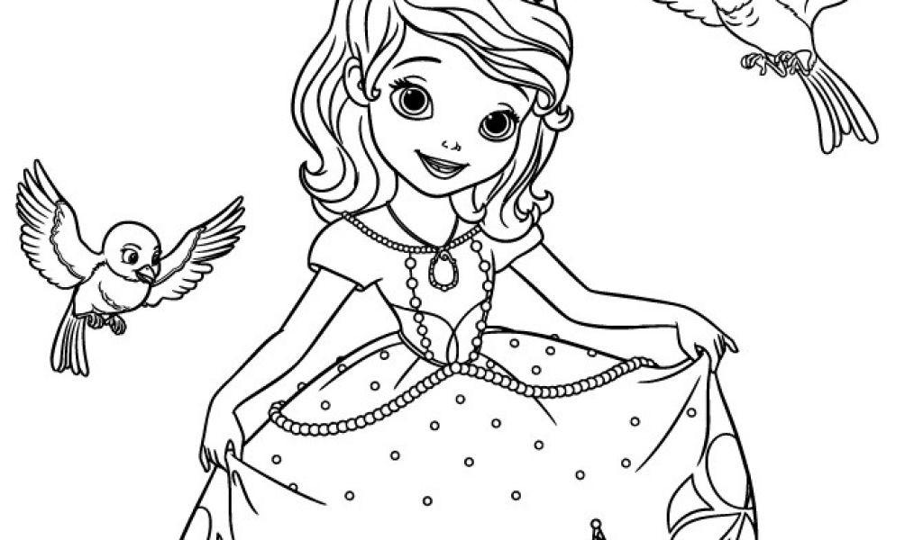 Ausmalbilder Prinzessin sofia Genial Ausmalbilder Prinzessin sofia Ideen sofia the First Disney Sammlung
