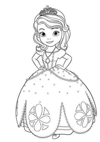 Ausmalbilder Prinzessin sofia Neu Ausmalbild Prinzessin sofia Druckfertig Prinzessin Ausmalbilder Stock