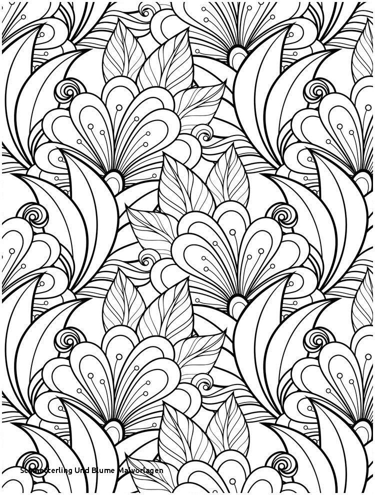 Ausmalbilder Schmetterling Mit Blume Neu Schmetterling Und Blume