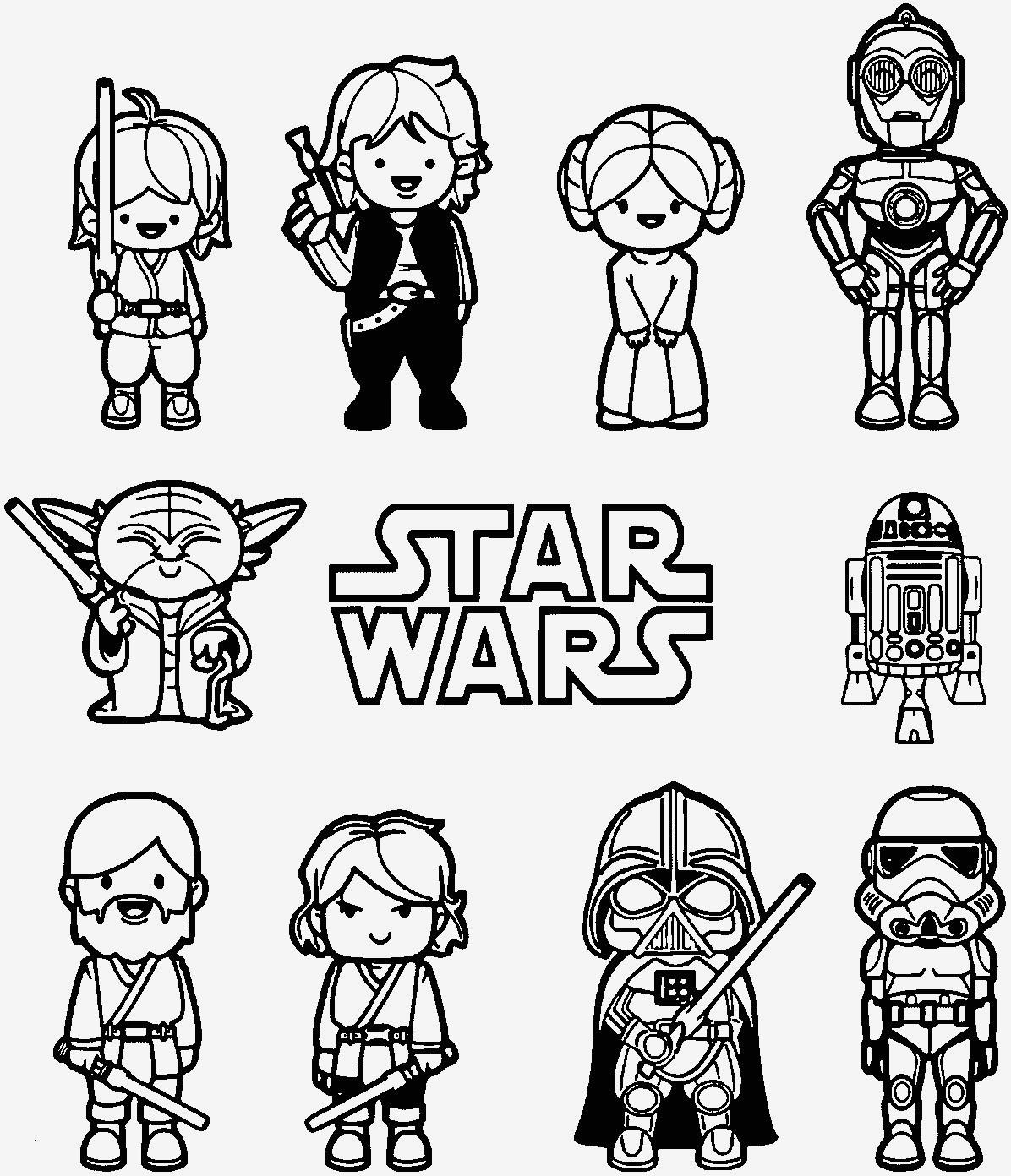 Ausmalbilder Star Wars Frisch Beispielbilder Färben Star Wars Malvorlagen Bilder