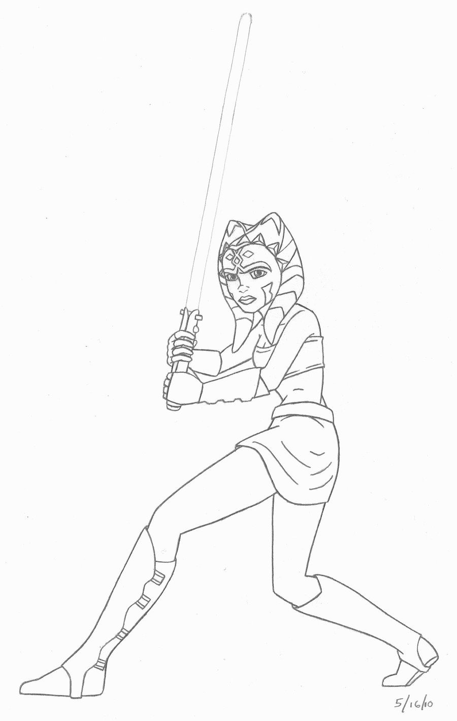 Ausmalbilder Star Wars the Clone Wars Einzigartig Star Wars Clone Wars Ahsoka Coloring Pages Luxus Ausmalbilder Star Stock