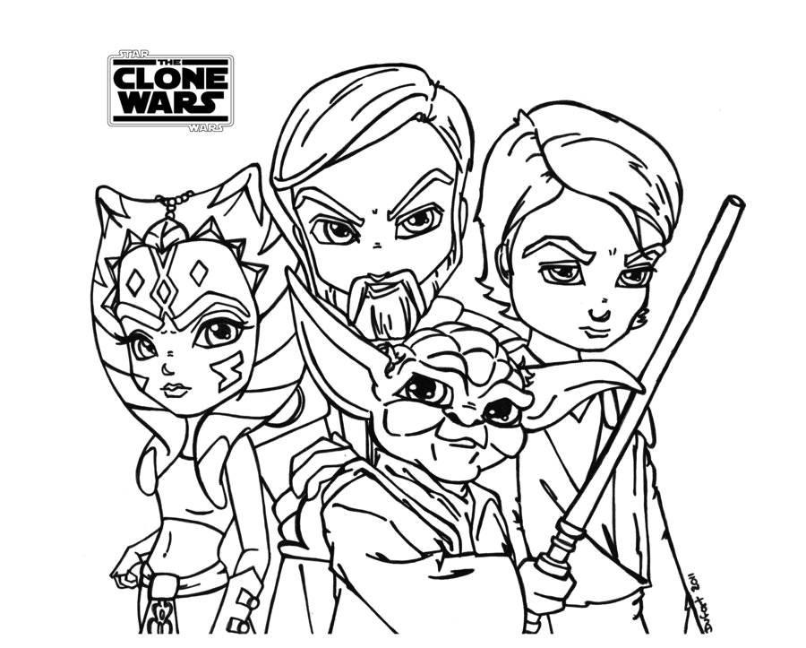 Ausmalbilder Star Wars the Clone Wars Frisch 39 Malvorlage Star Wars Bild