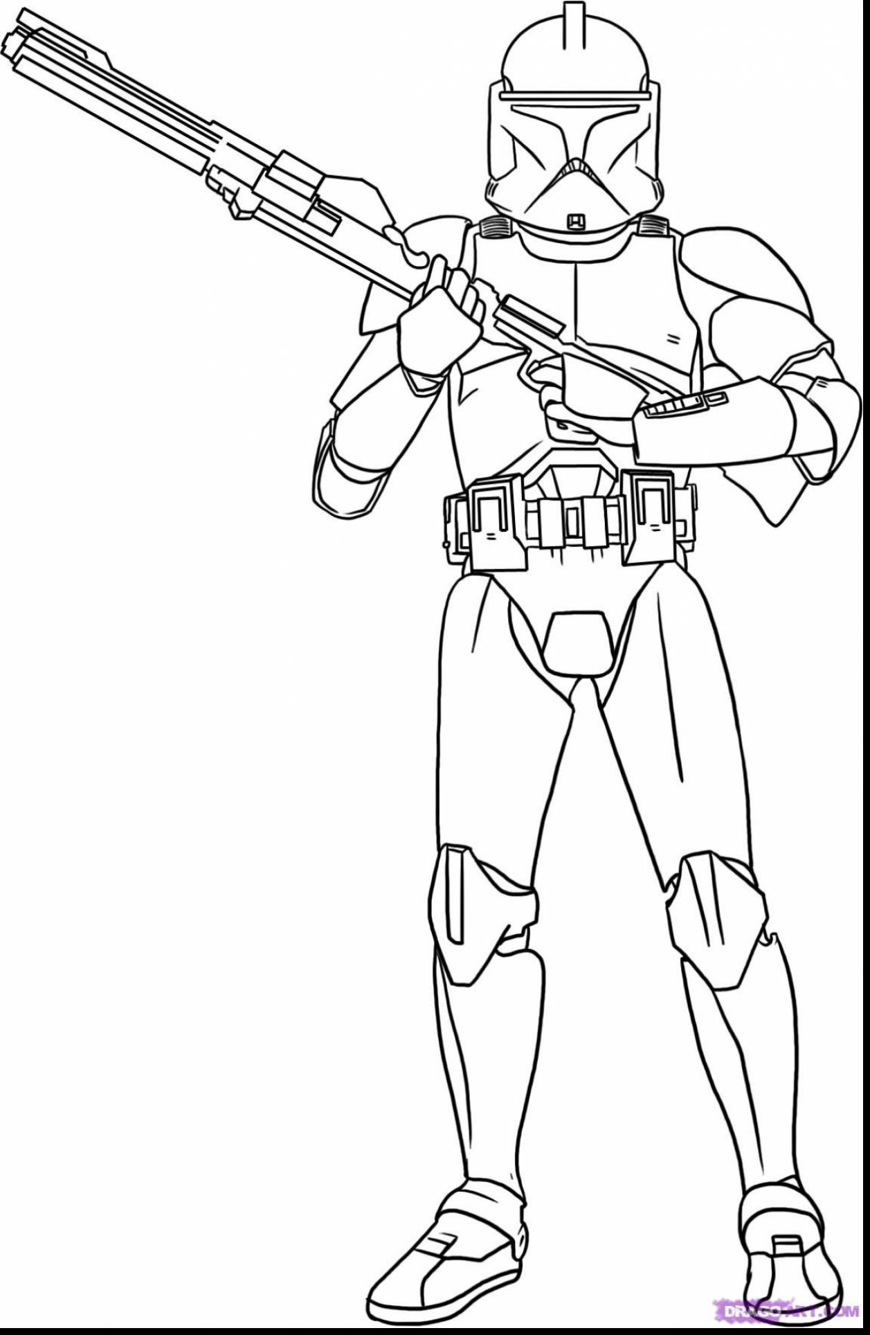 Ausmalbilder Star Wars the Clone Wars Frisch Mander Cody Coloring Page Best Beautiful Clone Trooper Genial Galerie