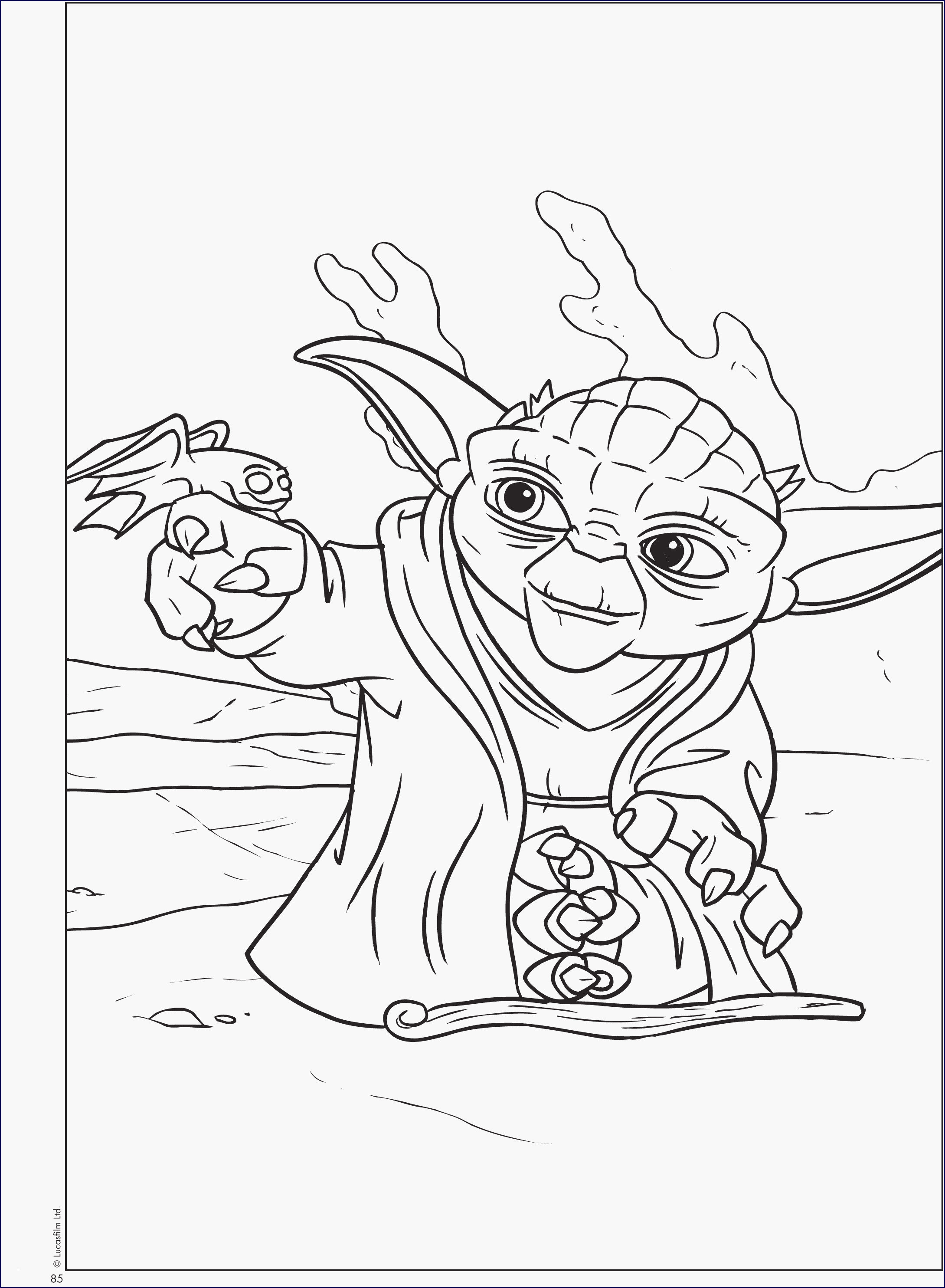 Ausmalbilder Star Wars the Clone Wars Frisch Yoda Ausmalbilder Elegant Star Wars Free Coloring Pages Awesome Star Galerie