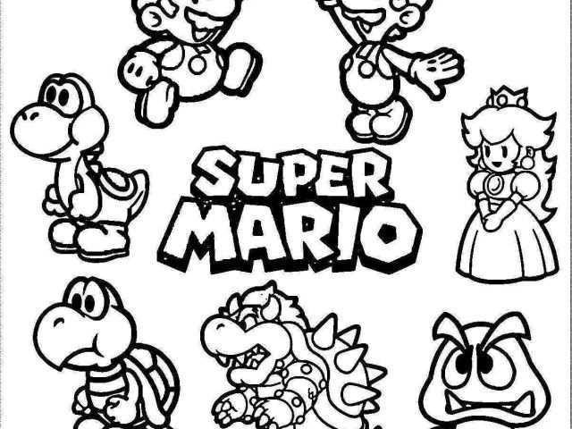 Ausmalbilder Super Mario 3d World Einzigartig Coloriage Mario Et Luigi Nouveau 35 Ausmalbilder Super Mario 3d Bilder