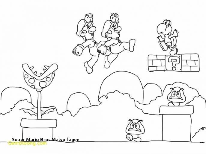 Ausmalbilder Super Mario 3d World Inspirierend Super Mario Bros Malvorlagen Galerie